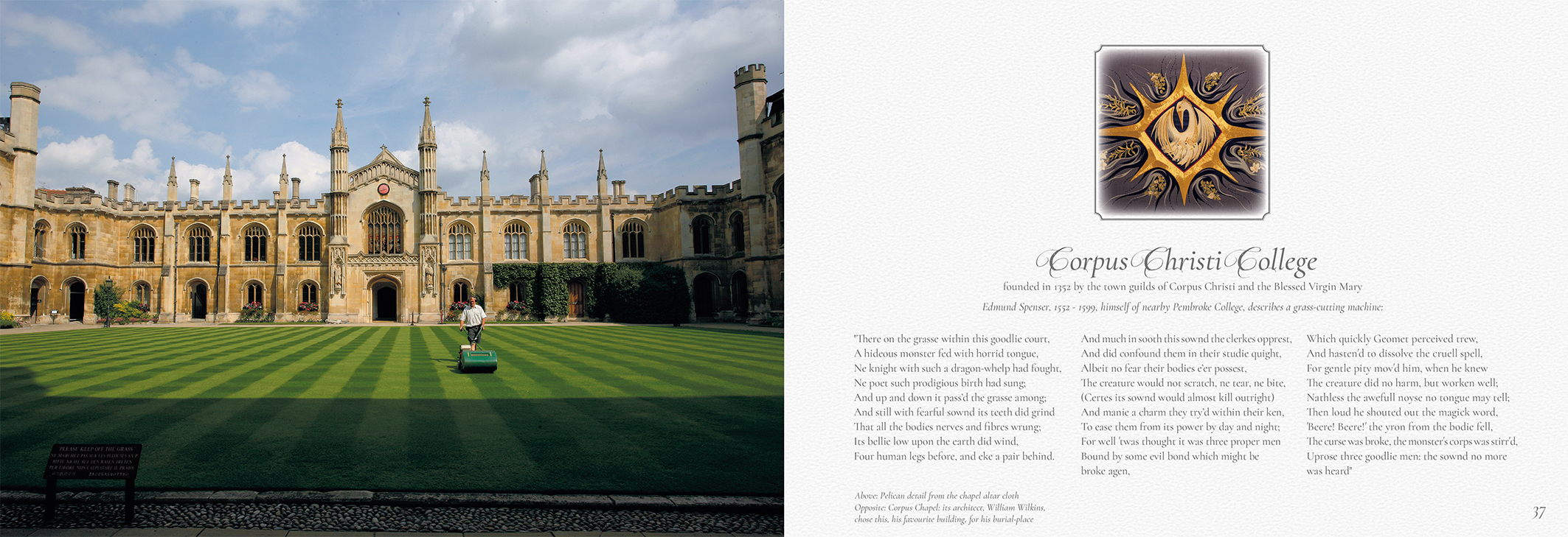 Cambridge A City For All Seasons Corpus Christi College
